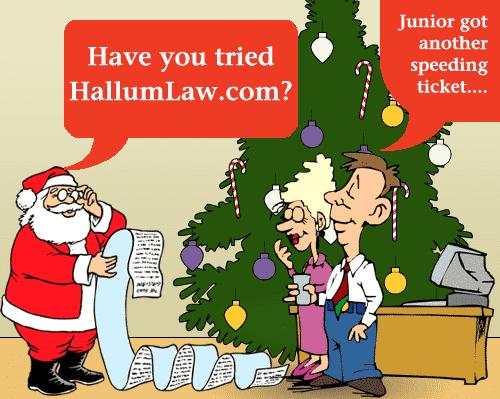 Santa Claus Recommends Hallum Law